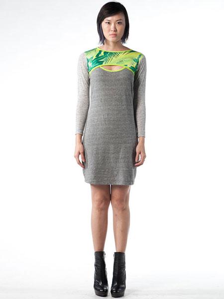 KEYHOLE DRESS