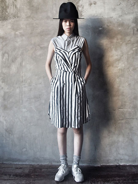STRIPES TUBE DRESS