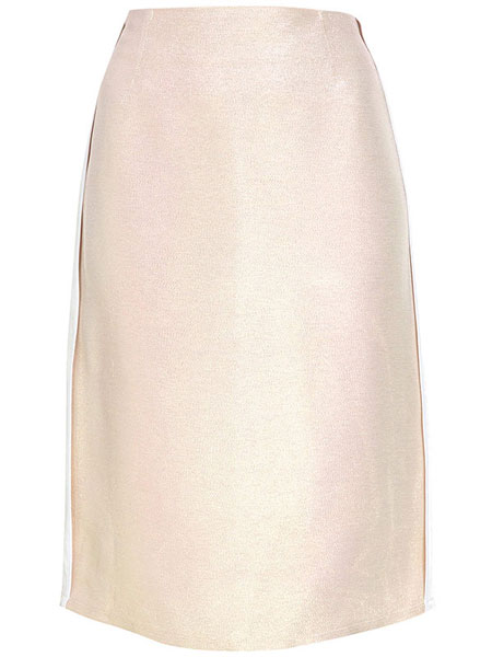 TOPSHOP - LUREX SHIMMER PENCIL SKIRT
