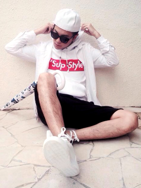 'SUP STYLE HOODIE (WHITE)
