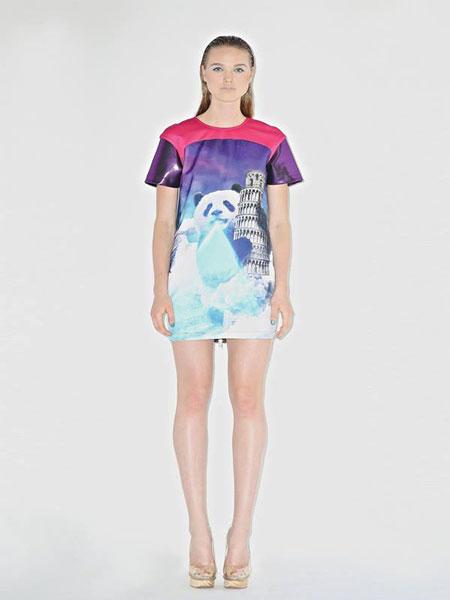 PANDA ATTACK DRESS