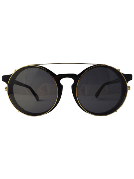 MATAHARI BLK WITH GOLD RIM