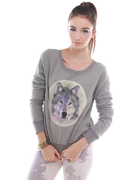 OVERSIZED SWEATED WOLF