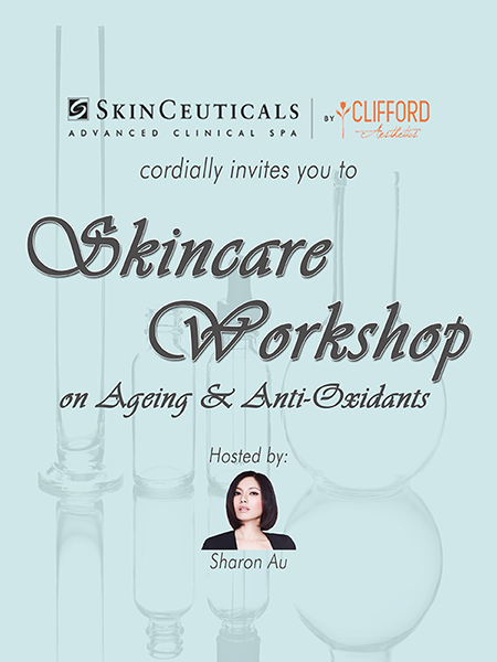 [SINGLE TICKET] AGING & ANTI-OXIDANTS – WHAT YOU SHOULD KNOW?