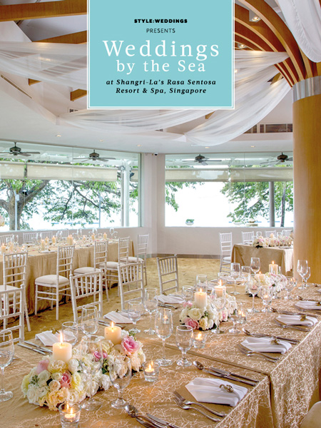WEDDINGS BY THE SEA AT SHANGRI-LA'S RASA SENTOSA RESORT & SPA, SINGAPORE